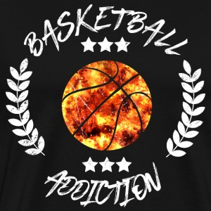 Basketball Addcition Bball Sport Team addicted - Men's Premium T-Shirt