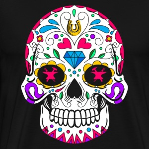 BLACKSMITH SUGAR SKULL SHIRT - Men's Premium T-Shirt
