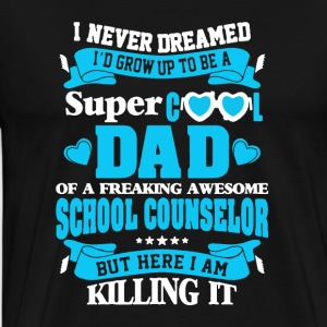 School Counselor Tee Shirt - Men's Premium T-Shirt