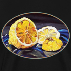 Juicy Lemon Half - Men's Premium T-Shirt