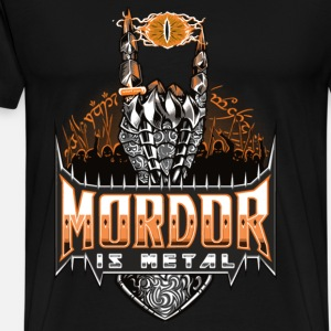 Lord of the ring - Mordor is metal t-shirt for f