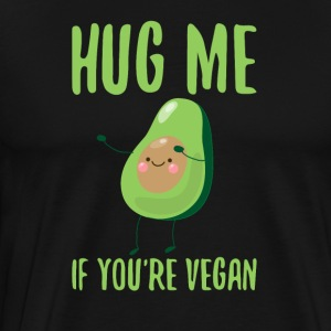 Hug Me If You´re Vegan - Men's Premium T-Shirt