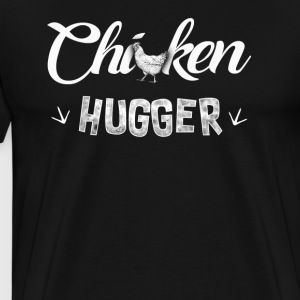 Chicken hugger T-Shirts - Men's Premium T-Shirt
