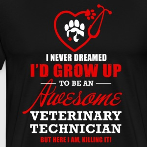Awesome Veterinary Technician - Men's Premium T-Shirt