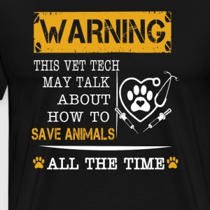 Save animals all the time - Men's Premium T-Shirt