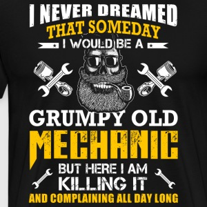 Grumpy Old Mechanic T-Shirts - Men's Premium T-Shirt