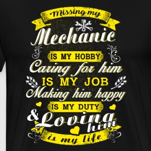 Missing My Mechanic T-Shirts - Men's Premium T-Shirt