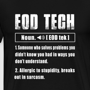 Eod Tech Noun - Men's Premium T-Shirt