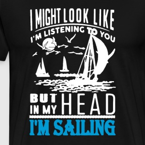 Sailing Tee Shirt - Men's Premium T-Shirt