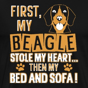 Beagle Tee Shirt - Men's Premium T-Shirt