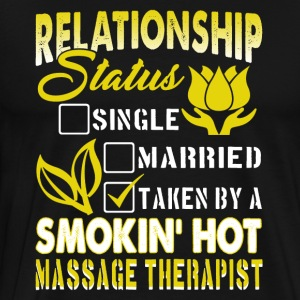 Massage Therapist Shirt - Men's Premium T-Shirt