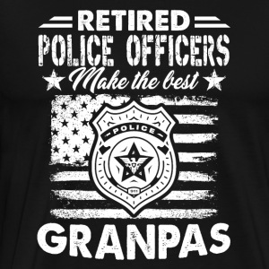 Retirement Police Officers Shirt - Men's Premium T-Shirt