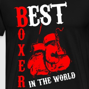 Best Boxer - Men's Premium T-Shirt