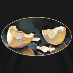 Broken Egg Shell - Men's Premium T-Shirt