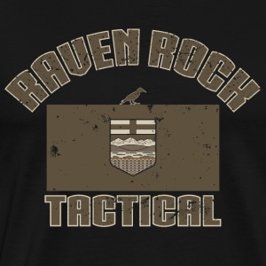 Raven Rock Alberta - Tactical Tan - Men's Premium T-Shirt