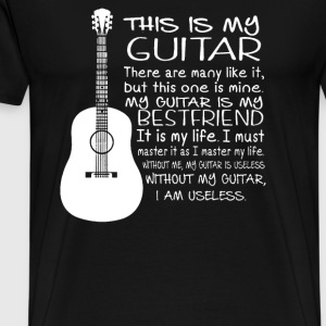 My Guitar BestFriend - Men's Premium T-Shirt