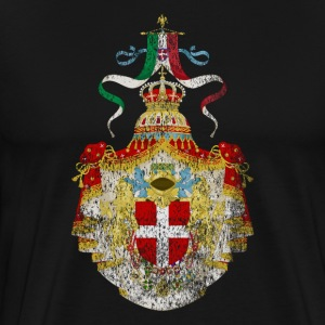 Italian Coat of Arms Italy Symbol - Men's Premium T-Shirt