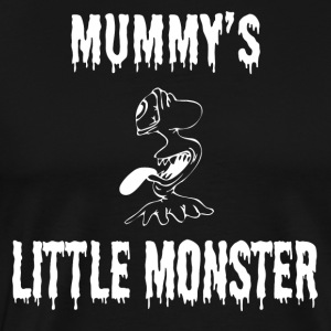 Halloween Shirt/Hoodie/Tank Gift- Mummy's Monster - Men's Premium T-Shirt