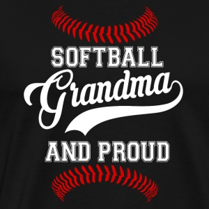Softball Grandma - Men's Premium T-Shirt