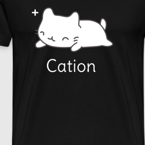 Funny Cat T shirt for Science Lovers - Men's Premium T-Shirt