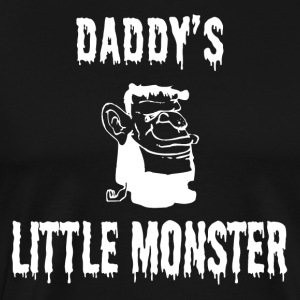 Halloween Shirt/Hoodie/Tank Gift- Daddy's Monster - Men's Premium T-Shirt