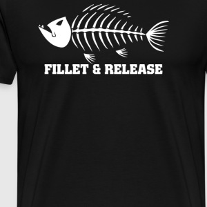 Fillet And Release Fishing - Men's Premium T-Shirt