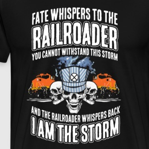 Railroader Tee Shirt - Men's Premium T-Shirt