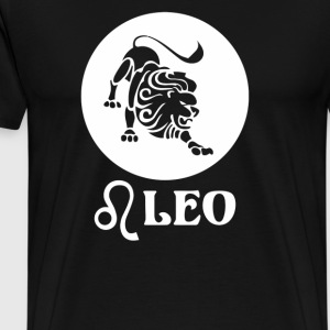 Zodiac Horoscope Leo - Men's Premium T-Shirt