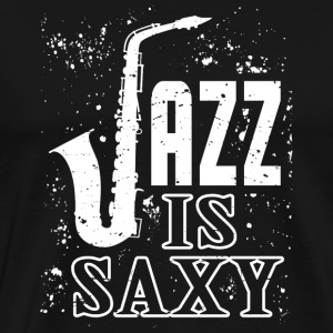 Jazz - Saxophone - Sax - Trumpet - Jazz Music - Men's Premium T-Shirt