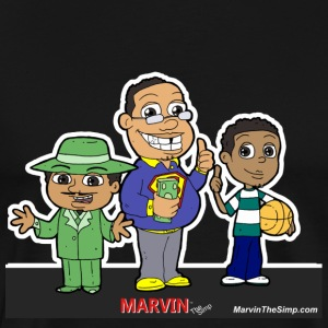 Marvin The Simp Combination - Men's Premium T-Shirt