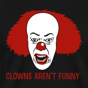 Clowns Aren't Funny - Men's Premium T-Shirt