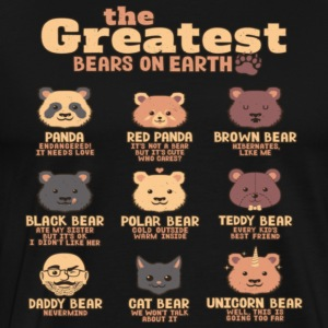 Greatest Bears Daddy - Men's Premium T-Shirt
