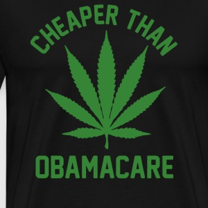 Cheaper Than Obamacare - Men's Premium T-Shirt