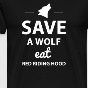 Save A Wolf T Shirt - Men's Premium T-Shirt