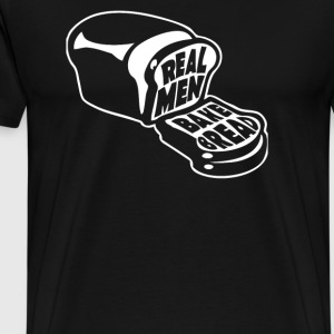 Real Men Bake Bread - Men's Premium T-Shirt