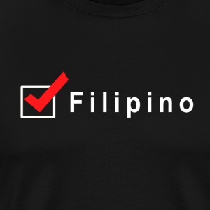 Check Filipino - Men's Premium T-Shirt