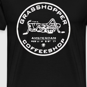 Grasshopper Cafe Amsterdam Marijuana - Men's Premium T-Shirt