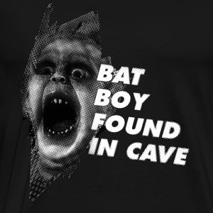 Bat Boy Found in Cave - Men's Premium T-Shirt