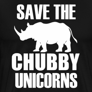 Save The Chubby Unicorns - Men's Premium T-Shirt