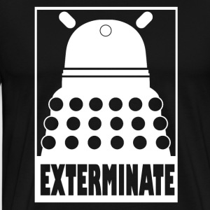Dalek - Exterminate - Men's Premium T-Shirt