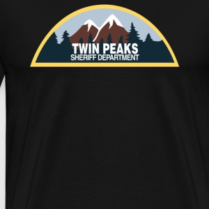 New Twin Peaks Sheriff Department 90s - Men's Premium T-Shirt