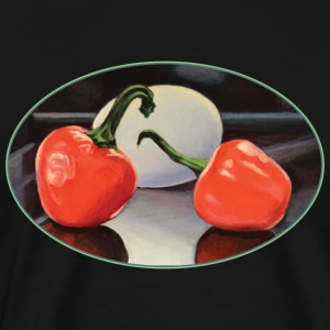 Peppers and Egg - Men's Premium T-Shirt