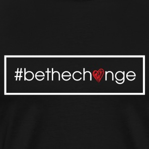 #BeTheChange T-shirts - Men's Premium T-Shirt