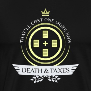 Magic the Gathering - Death and Taxes Life V2 - Men's Premium T-Shirt