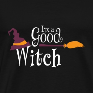 Halloween I'm a Good Witch Gift Tee - Men's Premium T-Shirt