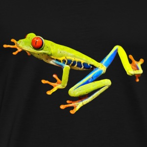 red eye frog frosch - Men's Premium T-Shirt