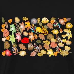 autumn leaves04 - Men's Premium T-Shirt