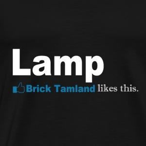 Lamp Brick Tamland Likes This Facebook Thumbs Up - Men's Premium T-Shirt