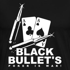 Poker - Black Bullets - Men's Premium T-Shirt
