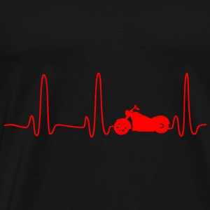 GIFT - EKG CHOPPER RED - Men's Premium T-Shirt